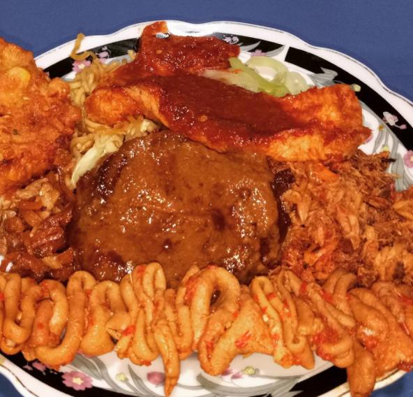 14 a Nasi Campur Paling Lengkap di Surabaya